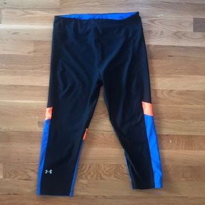 UA running Tights Leggings sz M